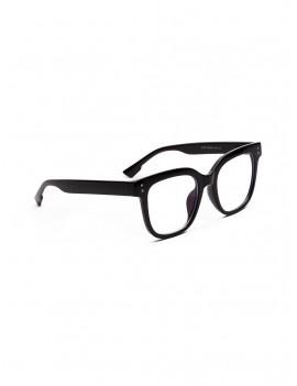 Computer Anti Blue-ray Square Glasses - Black