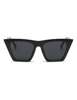 Big Frame Design Outdoor Sunglasses - Mirror Black