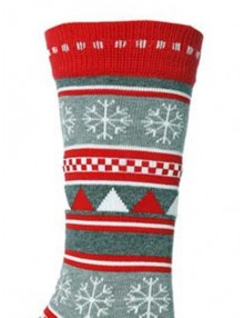Christmas Party Novelty Crew Socks - Multi-c