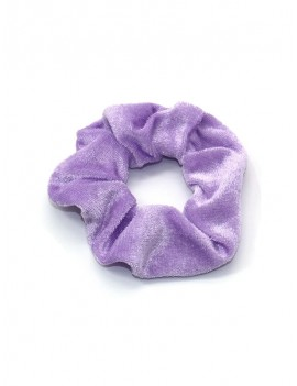 9PCS Velour Scrunchies - Multi-a